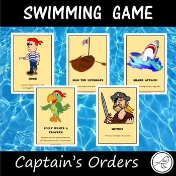 Swimming Pool Game - Captain's Orders