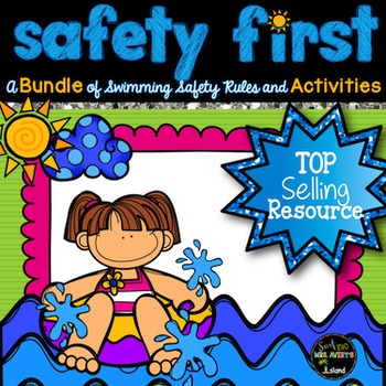 End of the Year Activities:  Swimming Safety, Summer Fun Pack