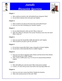 Swindle Reading Comprehension Discussion Questions Activity