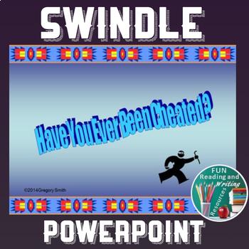 Swindle by Gordan Korman PowerPoint