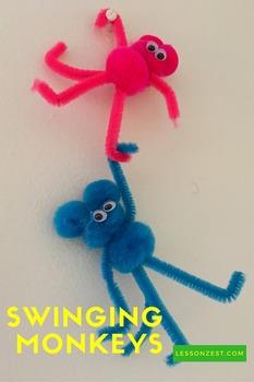 Swinging Monkeys Craft