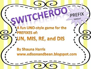 Switcheroo: A Prefix Game