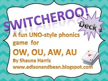 Switcheroo Games for Phonics
