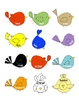 Syllable Birds:  A Low-Prep Activity to Review Words with