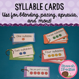 Syllable Cards {multi-syllabic word cards for blending pac