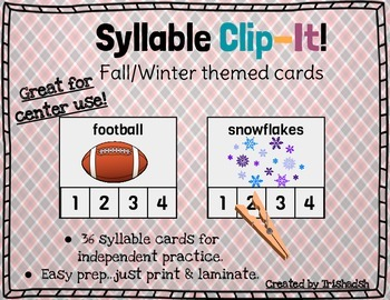 Syllable Clip-It