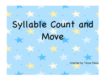 Syllable Count and Move Game