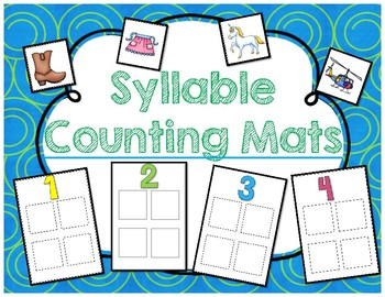 Syllable Counting Mats