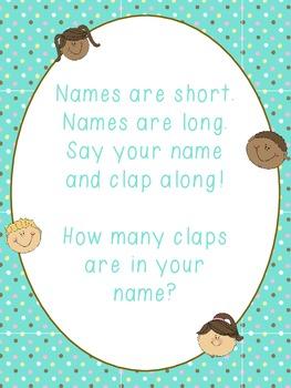 Syllable Name Song