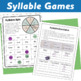 Six Types of Syllables: Posters, Centers, Interactive Note