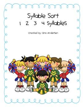 Syllable Sort 1 2 3 4