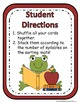 Frog and Toad Syllable Sort