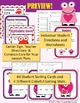 St. Valentine's Day Syllable Sort Center Game