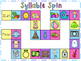 Syllable Spin Game