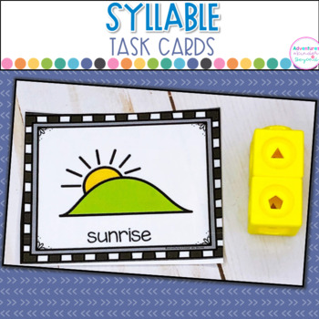 Syllable Task Cards- Snappin' Syllables