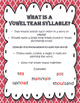 Syllable Types: Vowel Teams 2-Syllable Words