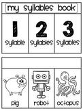 Syllables Sorting Book