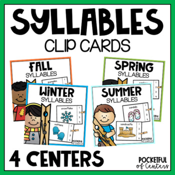 Syllables all Year {BUNDLE}