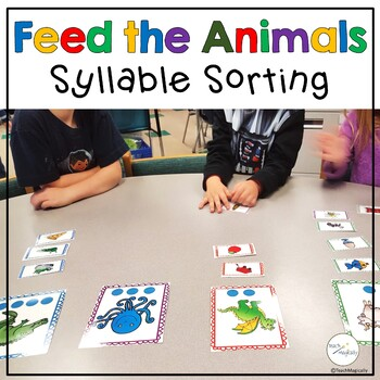 Syllables! Feed the Animals! A Common Core Game