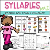 Syllables - Pocket Chart Cards and Printables