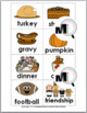 Syllables Sort: Thanksgiving Activity - Fall Activity - Au