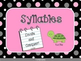Syllables VCCV Unit with Station PowerPoint and PDF