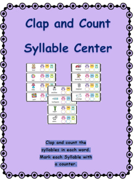 Syllables are a Hoot Clap and Count