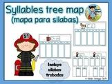Syllables tree map (mapa para silabas)