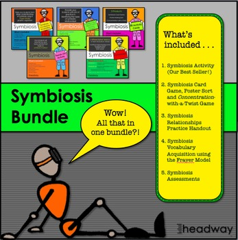 Symbiosis or Symbiotic Relationship Bundle