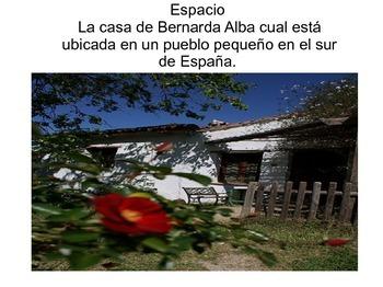 """Symbolism found in """"La casa de Bernarda Alba"""""""