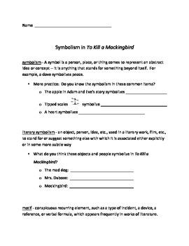 """Symbols and Motifs in """"To Kill a Mockingbird"""""""