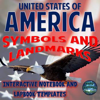 Symbols of America Interactive Notebook Activities with Te