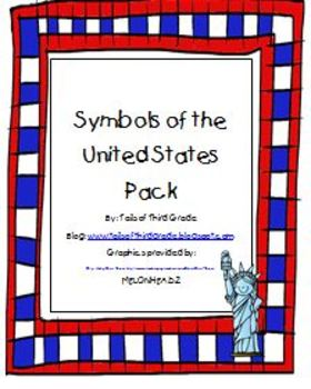 Symbols of the USA activity pack