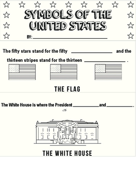 Symbols of the United States Flipbook