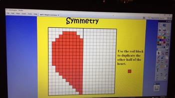 Symmetry Flip chart!