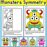 Symmetry Differentiated Math Centers - Morning Work Activi