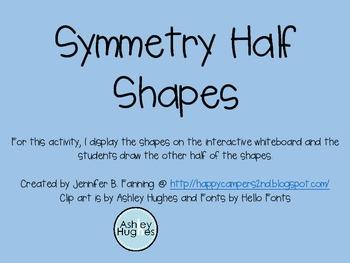 Symmetry Shapes
