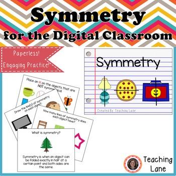 Symmetry for the Digital Classroom