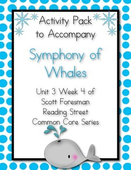 Symphony of Whales Activity Pack Scott Foresman Reading St