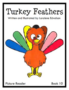 """Symple Reader's Week 10: """"Turkey Feathers"""" Picture Reader"""