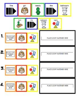 "Symple Reader's Week 6: Math Activity: Colors: ""Bathroom Signs"""