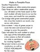 Symple Readers Week 9: Pumpkin Face Art Project