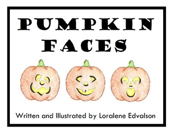 Symple Reader's Week 9: Pumpkin Faces: Intro to Literacy Book