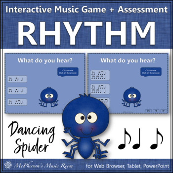 Syncopa - Dancing Spider {Interactive Music Game & Assessm