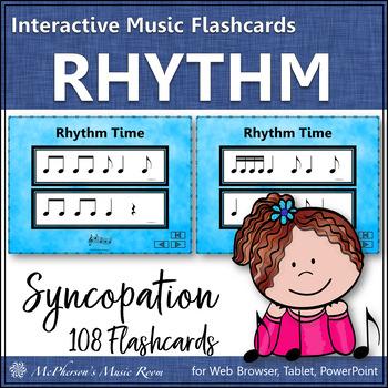 Syncopation - Interactive Rhythm Flash Cards (syncopa)