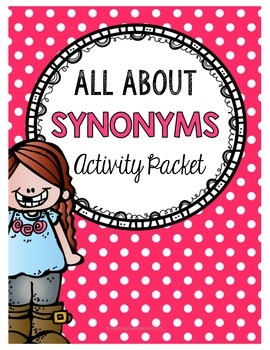 Synonym Activity Packet