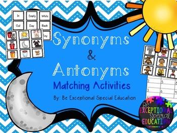 Synonym & Antonym Activities