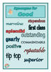 Synonym Bundle - Posters, Games, Worksheets - ACELA1464, A