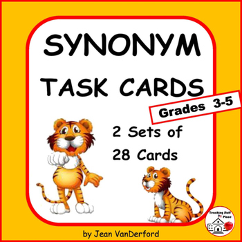 SYNONYMS | Vocabulary Lists | Gr 3-4-5  Language PRACTICE