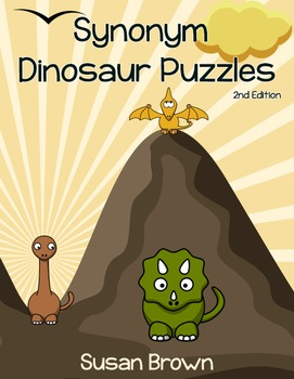 Synonym Dinosaur Puzzles, 2nd Edition